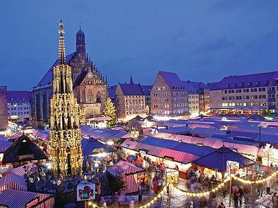 Weihnachtsmarkt Nürnberg.Nürnberger Christkindlesmarkt