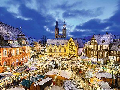 Wernigerode Weihnachtsmarkt.Adventszauber Im Harz