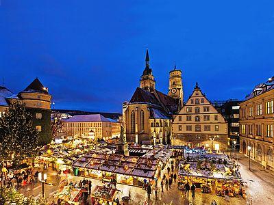 Wo Ist Der Größte Weihnachtsmarkt.Weihnachtsmarkt Und Shopping In Stuttgart Mit Eurobus