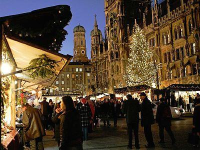 München Weihnachtsmarkt.Weihnachtsmarkt München Eurobus